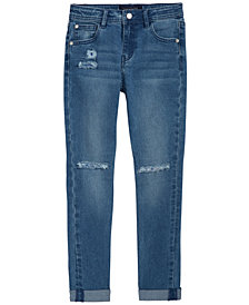 Tommy Hilfiger Rip-and-Repair Denim Jeans, Big Girls