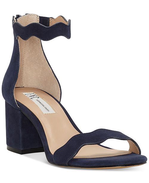 4b8cf11d4dc3 ... INC International Concepts I.N.C. Women s Hadwin Scallop Two-Piece  Sandals