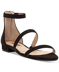 I.N.C. Women's Yessenia Strappy Flat Sandals, Created for Macy's