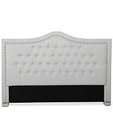 Leeber Adjustable King/Californa King Headboard, Quick Ship