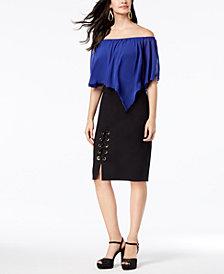 Thalia Sodi Convertible Top & Corset Skirt, Created for Macy's