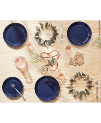 Teema Dotted Blue Soup/Cereal Bowl