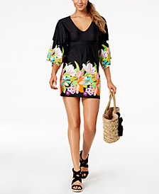 Trina Turk Bouquet Tunic Cover-Up
