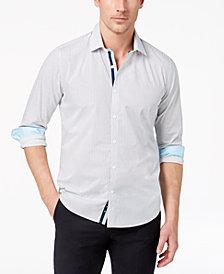 Ryan Seacrest Distinction™ Men's Slim-Fit Geo-Print Shirt, Created for Macy's