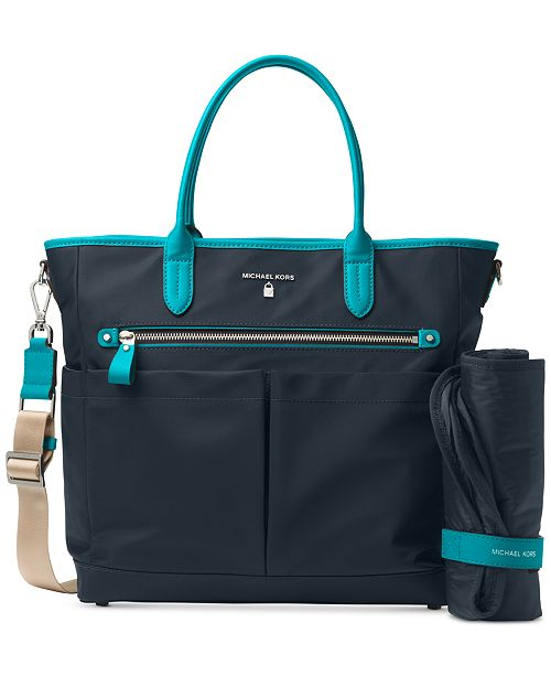 a1a63e4abc2e68 Michael Kors Kelsey Large Diaper Bag & Reviews - Handbags ...