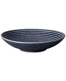 Denby Studio Blue Cobalt Medium Ridged Bowl