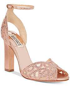Badgley Mischka Hart Evening Sandals