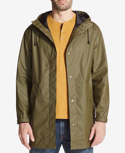 Weatherproof Vintage Men's Hooded Raincoat, Created for Macy's