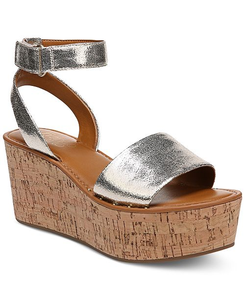 Franco Sarto Ankle Strap Wedges - Jovie sale with mastercard buy cheap exclusive quality outlet store cheap sale professional 28SKAL