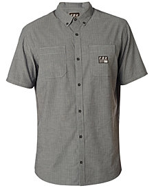 Fox Men's Short Sleeve Button Down Shirt