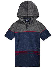 Univibe Bernardo Striped Hooded Shirt, Big Boys
