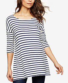 Isabella Oliver Maternity Striped Top