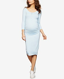 Maternity Henley Sheath Dress