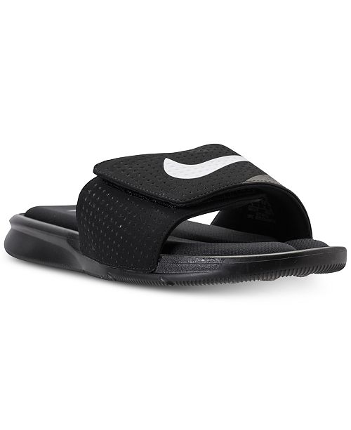 7fd5ad671763 Nike Men s Ultra Comfort Slide Sandals from Finish Line   Reviews ...