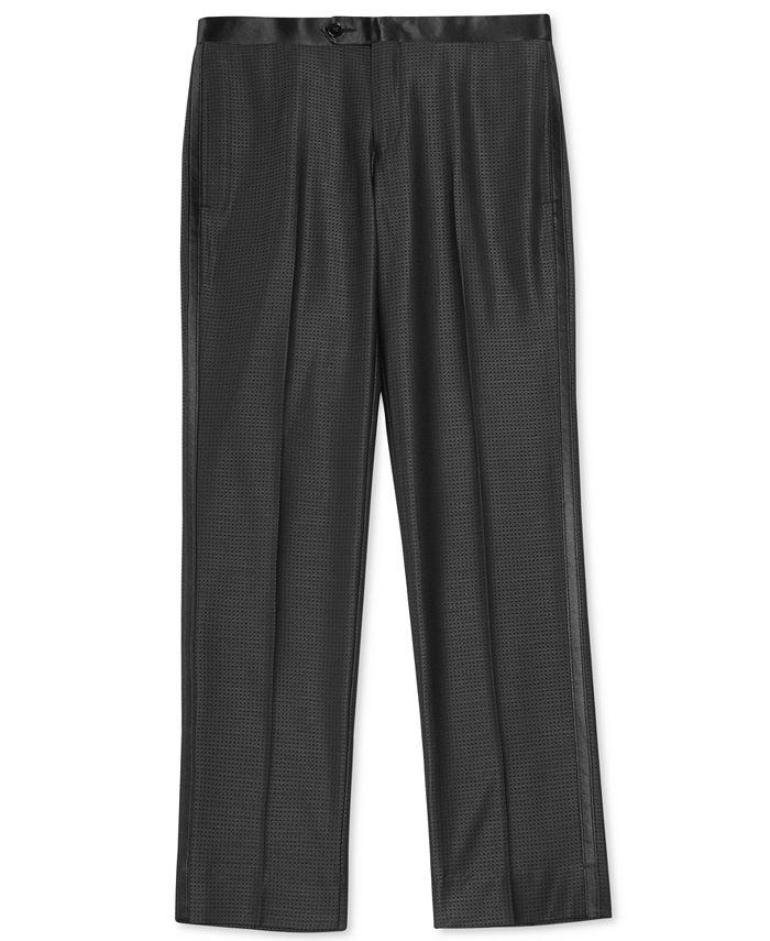 DKNY - Black Tuxedo Pants, Big Boys