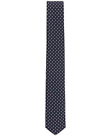 BOSS Men's Slim Traveler Paisley-Dot Italian Silk Tie
