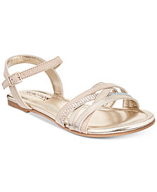 Kenneth Cole Reaction Dorothy Gleam Sandals, Little Girls (11-3) & Big Girls (3.5-7)