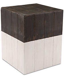 Gelsey Square Garden Stool, Quick Ship