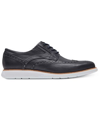 Rockport Men's Total Motion Sport Dress Perforated Wingtip Oxfords Men's Shoes