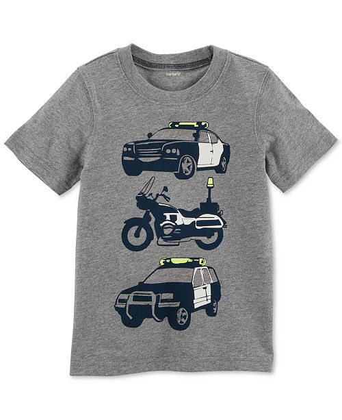 Graphic-Print Cotton T-Shirt, Toddler Boys