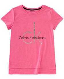 Calvin Klein Logo T-Shirt, Big Girls