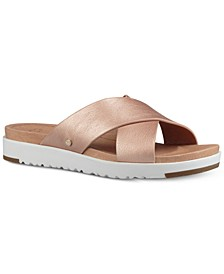 Women's Kari Slide Flat Sandals