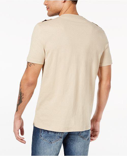 c4bc12e015f9 Sean John Men s Zip-Pocket Flight T-Shirt