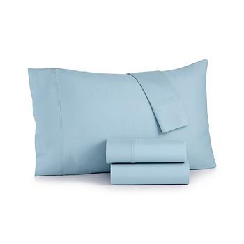 Sunham Bari 4-Piece Queen Sheet Set, 350 Thread Count Cotton Blend