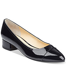 Ivanka Trump Larrie Cap-Toe Pumps