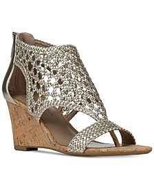 Donald J Pliner Jolie Wedge Sandals
