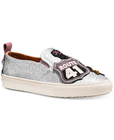 COACH Route 41 Slip-On Sneakers