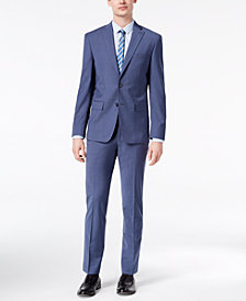 DKNY Men's Modern-Fit Stretch Neat Suit Separates