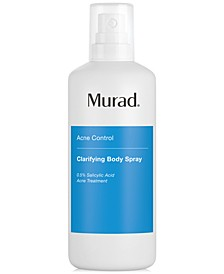 Acne Control Clarifying Body Spray, 4.3-oz.