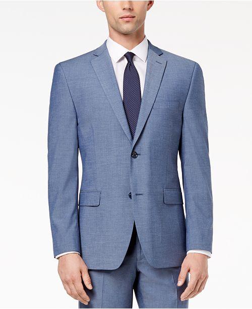 Light Blue Suit Jacket kNAv