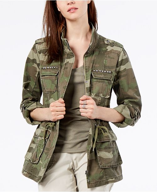 03101ed47deb8 ... INC International Concepts I.N.C. Camouflage-Print Utility Jacket,  Created for Macy's ...