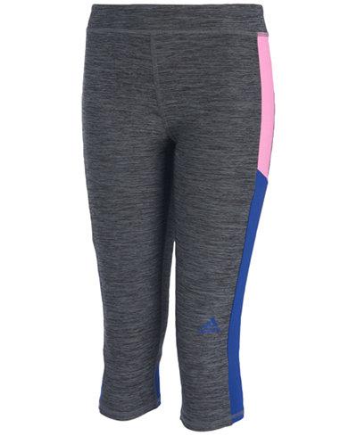 adidas Climalite® Match Point Capri-Length Leggings, Toddler & Little Girls