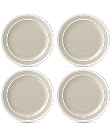 CLOSEOUT! kate spade new york Sculpted Stripe 4-Pc. Dinner Plate Set