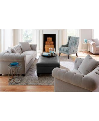 martha stewart collection saybridge 92 fabric sofa created for rh macys com