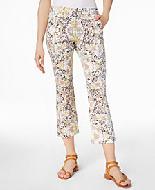 Weekend Max Mara Neottia Printed Cropped Pants
