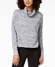 Calvin Klein Performance Funnel-Neck Dolman-Sleeve Sweatshirt