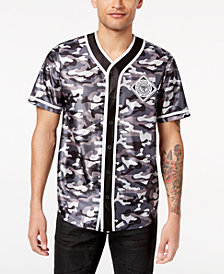 I.N.C. Men's Printed Baseball Jersey, Created for Macy's