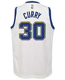 Outerstuff Stephen Curry Golden State Warriors Hardwood Classic Swingman Jersey, Big Boys (8-20)