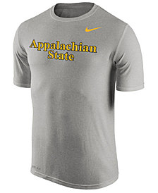 Nike Men's Appalachian State Mountaineers Dri-Fit Legend Wordmark T-Shirt