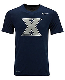 Nike Men's Xavier Musketeers Dri-Fit Legend 2.0 Logo T-Shirt
