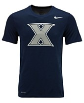 purchase cheap 72c92 a5438 Nike Men s Xavier Musketeers Dri-Fit Legend 2.0 Logo T-Shirt