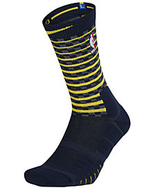 Nike Men's Indiana Pacers Elite Quick Crew Socks