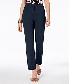 Alfani Modern Straight-Leg Pants, Regular & Short Lengths, Created for Macy's