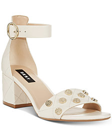 DKNY Henley Studded Sandals, Created for Macy's