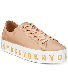 DKNY Banson Lace-Up Platform Sneaker Sneakers, Created for Macy's