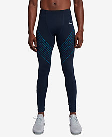 Nike Men's Power Dri-FIT Printed Running Tights